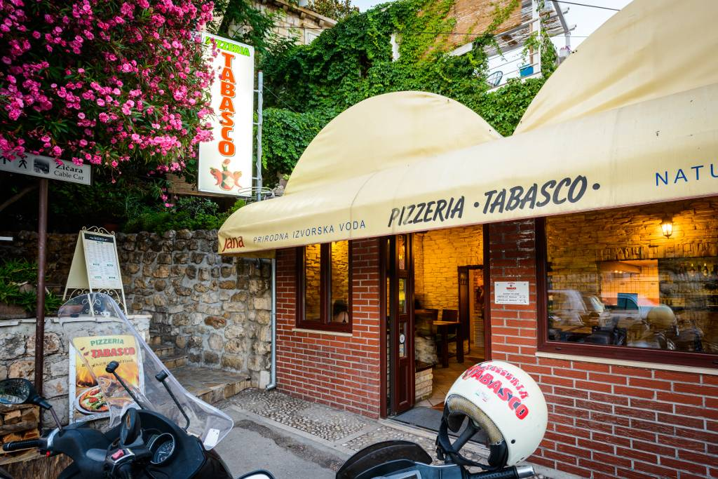 Tabasco Dubrovnik Best Pizza